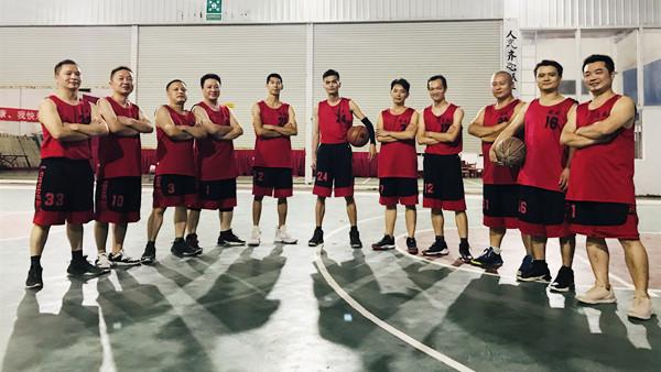 德威铸造-宜安篮球比赛