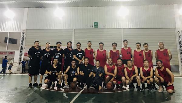 德威铸造-宜安篮球比赛.